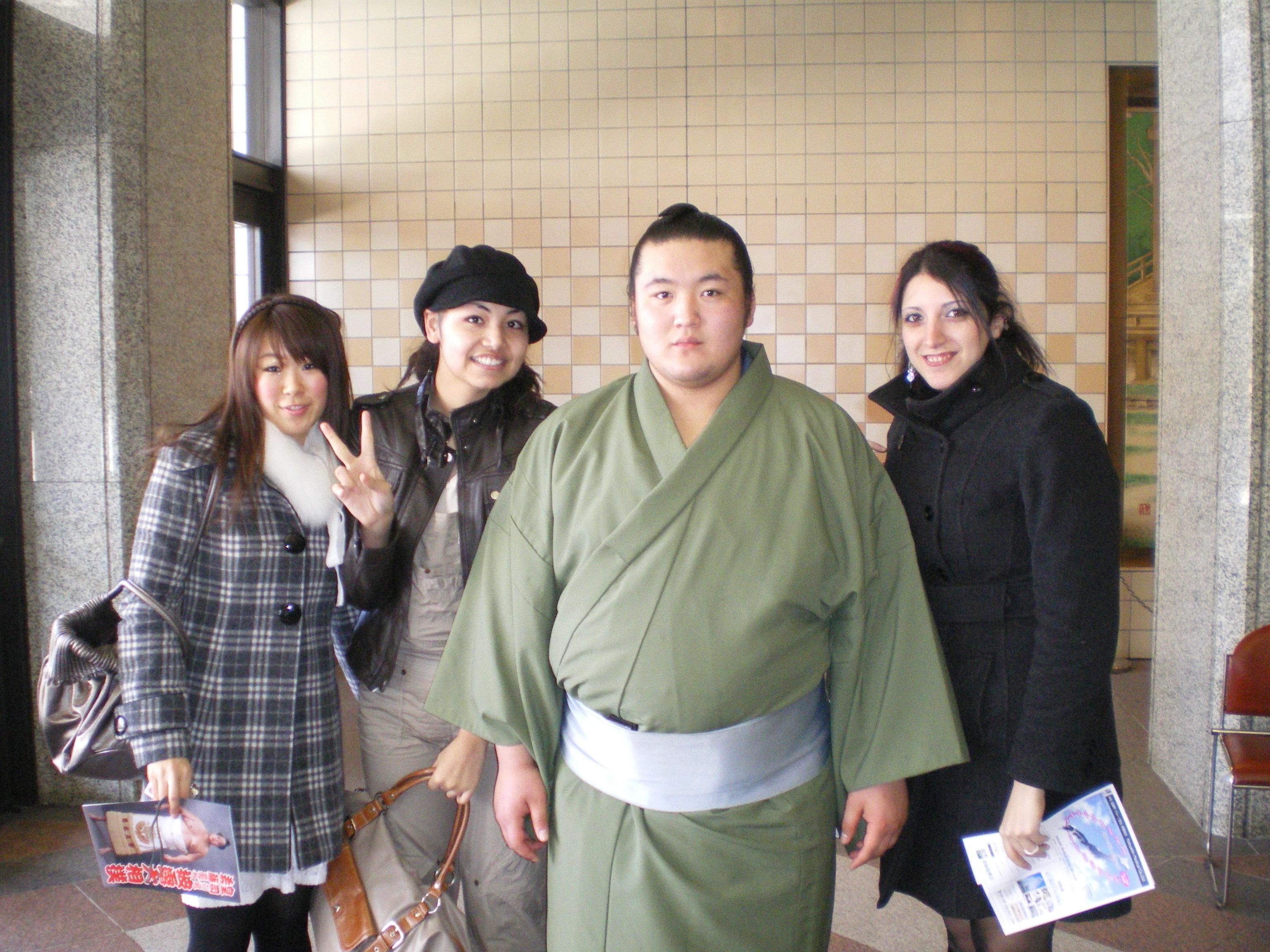 Nous et un sumo